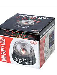 Недорогие -Светодиодные театральные лампы Волшебный светодиодный мяч Дисконтный клуб Party DJ Show Lumiere LED Crystal Light Лазерный проектор 15W -