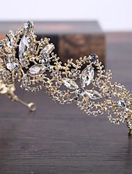 Lega d'imitazione della perla di lega headpiece-wedding occasione speciale tiaras esterna 1 parte