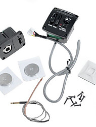UK-400T 2 Band EQ Ukulele Pickup System with Chromatic LED Tuner High quality