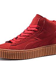 preiswerte -Herren-Sneakers Frühling Sommer Paar Schuhe Komfort Licht Sohlen Stoff Outdoor athletischen Casual flache Ferse Laufschuhe