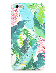 cheap -Case For Apple iPhone 7 Plus iPhone 7 Pattern Back Cover Flower Tree Hard PC for iPhone 7 Plus iPhone 7 iPhone 6s Plus iPhone 6s iPhone 6