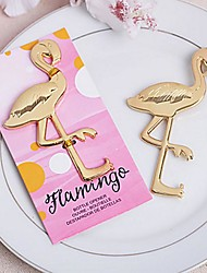 Flamingo Bird Bottle Opener Wine Opener 13 x 6.5 x 0.5 cm/pcs Beter Gifts® Tea Party Favor