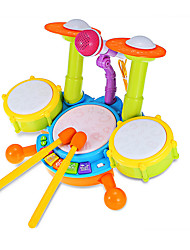 cheap -LED Lighting Drum Set Toy Musical Instrument Drum Set Jazz Drum Kid's