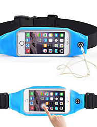 cheap -Unisex Bags Acrylic Waist Bag for Casual Sports Outdoor All Seasons Black Red Blushing Pink Peachblow LightBlue