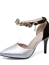 Da donna-Sandali-Matrimonio Formale Serata e festa-D'Orsay Club Shoes-A stiletto-Finta pelle-