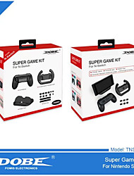 DOBE Switch Game Suits Handle the  Wheel  Charging Bracket Dustproof Plug TNS - 876