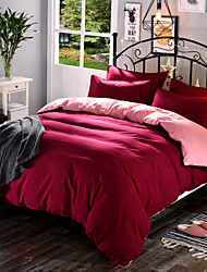 Duvet Cover Solid 1 Piece Polyester Reactive Print Polyester 1pc Duvet Cover