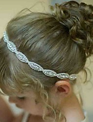 cheap -Unisex Hair Accessories, All Seasons Cotton Lace Headbands - White