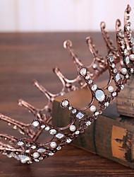 Cerimonia nuziale della perla di cerimonia nuziale dell'argento del rhinestone-cerimonia nuziale occasione esterna di tiaras 1 parte