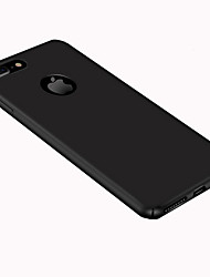 economico -Per iPhone 8 iPhone 8 Plus Custodie cover Ultra sottile Effetto ghiaccio Custodia posteriore Custodia Tinta unica Resistente PC per Apple