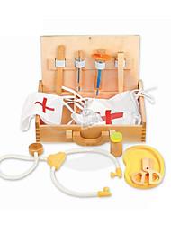 abordables -Épicerie Kits médicaux Jouet de caisse enregistreuse Bois Enfant Cadeau 1pcs