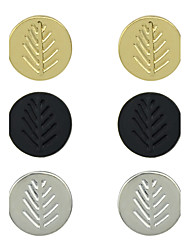 Elegant three Color a  Set Rhinestone Earrings