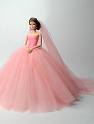 Mariage Robes Pour Poupée Barbie Robes Pour Fille de Jouets DIY