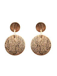 cheap -Women's Girls' Drop Earrings Jewelry Circular Unique Design Tag Geometric Euramerican Statement Jewelry Classic Fashion Personalized