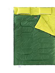 Schlafsack Rechteckiger Schlafsack Doppelbett(200 x 200) 5 Hohlbaumwolle145 Camping warm halten Transportabel