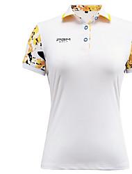 economico -Per donna Manica corta Golf Top Design anatomico Traspirante Comodo Golf Attività ricreative