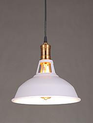 abordables -Rétro Lampe suspendue Lumière d'ambiance - LED, 110-120V 220-240V, Jaune, Ampoule non incluse