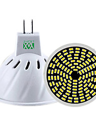 YWXLight® 5W GU10 GU5.3(MR16) LED Spotlight MR16 128 SMD 3014 400-500 lm Warm White Cold White Natural White 110V/220V