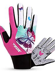 cheap -BAT FOX Sports Gloves Wearable / Breathable / Shockproof Full finger Gloves Lycra / Mesh Cycling / Bike Women's