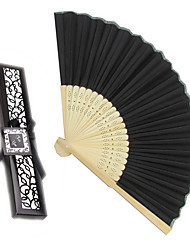 cheap -Debutante Ball Silk Hand Fans Beter Gifts® Ladies Night Out Essentials BETER-ZH002 22 x 4 x 1.5 cm/box