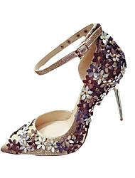 Da donna Tacchi Comoda Suole leggere Club Shoes PU (Poliuretano) Primavera Estate Autunno Casual Formale FootingComoda Suole leggere Club