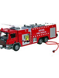 Недорогие -Игрушечные грузовики и строительная техника Пожарная машина Грузовик Универсальные Игрушки Подарок