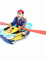 Недорогие -Робот Игрушка с заводом Игрушки Корабль Металл Винтаж 1 Куски Детские Подарок