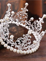 cheap -Imitation Pearl / Rhinestone / Alloy Tiaras 1 Wedding / Special Occasion Headpiece