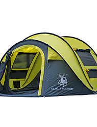 economico -GAZELLE OUTDOORS 3-4 persone Tenda Singolo Tenda da campeggio Una camera Pop up tenda Ompermeabile Antivento Resistente ai raggi UV