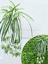 1 Branch  Large Size Chlorophytum Comosum Artificial Plant Plant Wall Decorate Artificial Flower