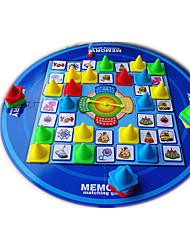 Недорогие -Настольная игра Шахматы Игрушки Круглый Детские Куски