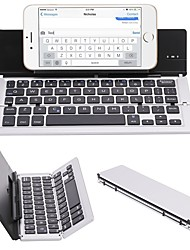 cheap -Wireless Tablet Keyboard Mini Slim Foldable Rechargeable Novelty Lithium Battery powered