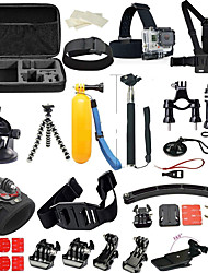 Accessory Kit For Gopro 36 in 1 Multi-function Foldable Adjustable For Action Camera Gopro 6 Gopro 5 Xiaomi Camera Gopro 4 Silver Gopro 4