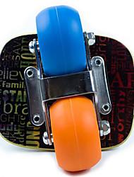 Madeira Bordo Unisexo Placa de deriva Clássico OutroAzul + Orange Preto/Luz Vermelha