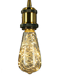 3W E27 LED Filament Bulbs ST64 25 leds Integrate LED Decorative Warm White 300lm 2700K AC 220-240V