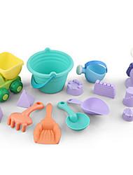 Недорогие -Водная игрушка Игрушки для пляжа Песочные часы Игрушечные машинки Пляжные игрушки Игрушки Веселье Большой размер Игрушки Праздник Куски