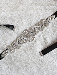 Dazzling Glass Crystal Rhinestone Bridal Belt With Crystals For Wedding Dress Luxury Wedding Belt Bridal Sash(More Colors)