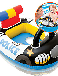 cheap -Police Inflatable Pool Float Donut Pool Float Swim Rings Plastic Kid's Girls' Boys'