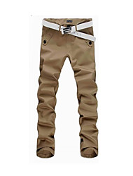 cheap -Men's Basic Slim / Chinos Pants - Solid Colored