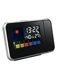 cheap -Household projection alarm clock with temperature and humidity display