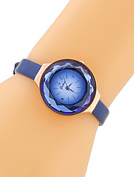 cheap -Women's Fashion Watch Japanese Imitation Diamond PU Band Vintage / Casual Black / Blue / Brown / One Year