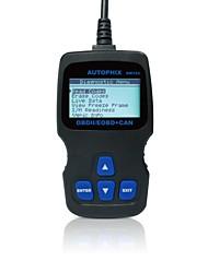 Недорогие -Autophix® диагностический инструмент obd obd2 obdii eobd сканер кодов om123 - черный