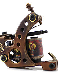 cheap -Tattoo Machine Copper Carved High Quality Shader Classic Daily