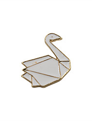 Women's Brooches Jewelry Fashion Cute Style Euramerican Enamel Alloy Animal Shape Jewelry For Wedding Party Special Occasion Daily Casual