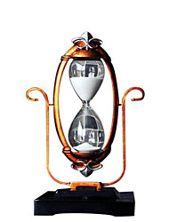 cheap -Recurrent Hourglass Timer 30 Minutes Creative Decoration Home Ornaments Ornaments Books Desktop Crafts Gifts