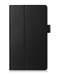 preiswerte -Für Fallabdeckung mit Standflake Ganzkörper-Etui Normallack weiches PU-Leder für Asus Zenpad c 7.0 z170c / cg
