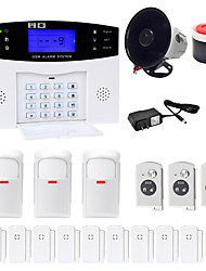cheap -Danmini  LCD Wirless GSM/PSTN Home House Office Security Burglar Intruder Alarm System