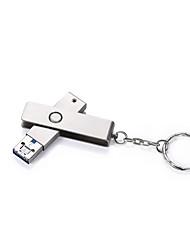 2 em 1 usb tipo-c / usb-a flash drive otg disco flash impermeável 32gb