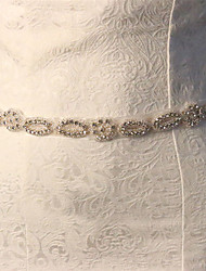 Sparkling Bridal Belts Wedding Belt Beaded Crystals And Rhinestones Wedding Sashes Waistband