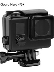 Waterproof Housing Case For Action Camera Gopro 4 Gopro 3+ Diving & Snorkeling